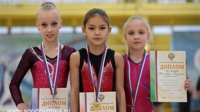 Юные спортивные гимнасты Чувашии успешно выступили на всероссийских соревнованиях «Олимпийские надежды» в Брянске