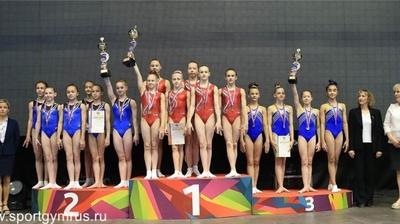 Гимнастки Чувашии завоевали командное «серебро» первенства России